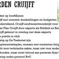 Met een klap op de gong wordt op 11 mei 1998 de beursgang van Ajax bekrachtigd. Dat levert de Amsterdamse club een kapitaalinjectie van omgerekend 53 miljoen euro op. Sinds […]